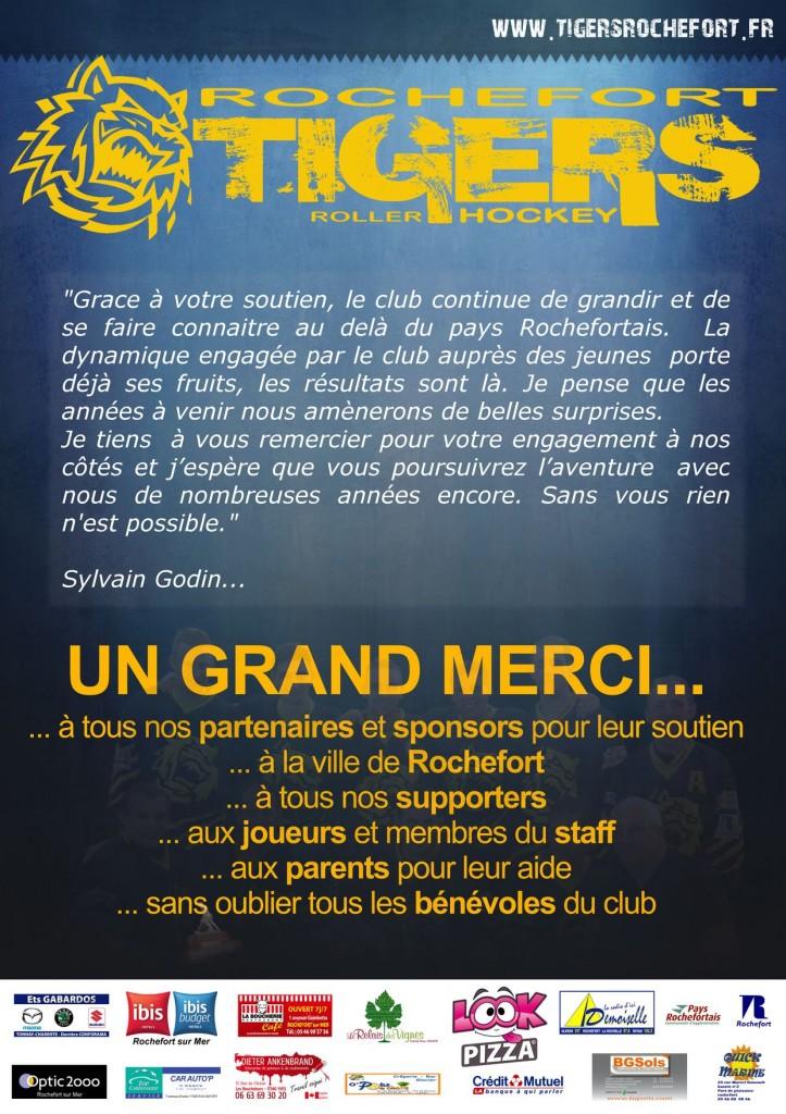 Tigers Rochefort Roller Hockey