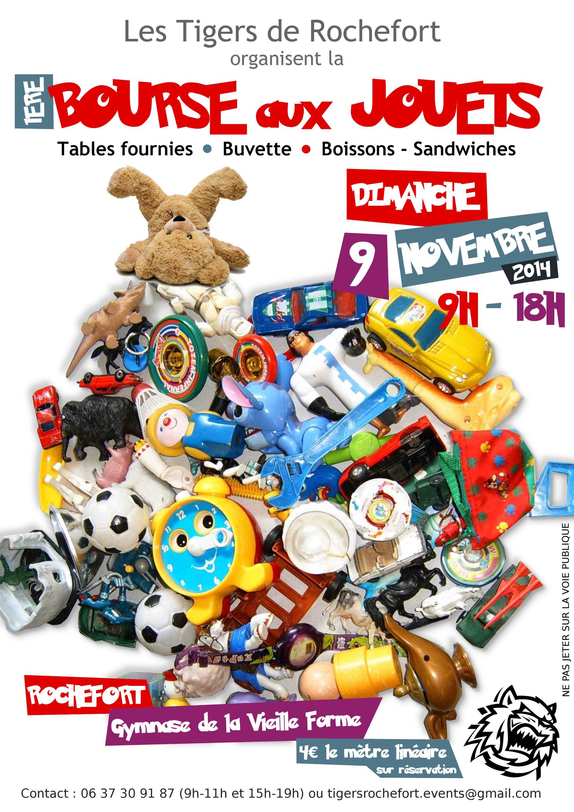 La bourse aux jouets des Tigers - Tigers Rochefort ff50d5475e5c