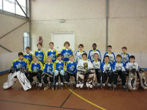 Photo d'équipe benjamins 2014-2015